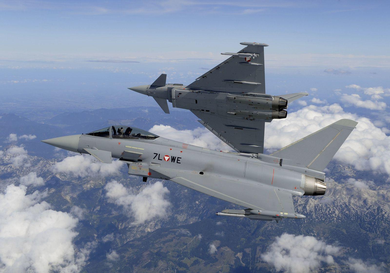 Canada : L'Eurofighter Typhoon se retire de la compétition