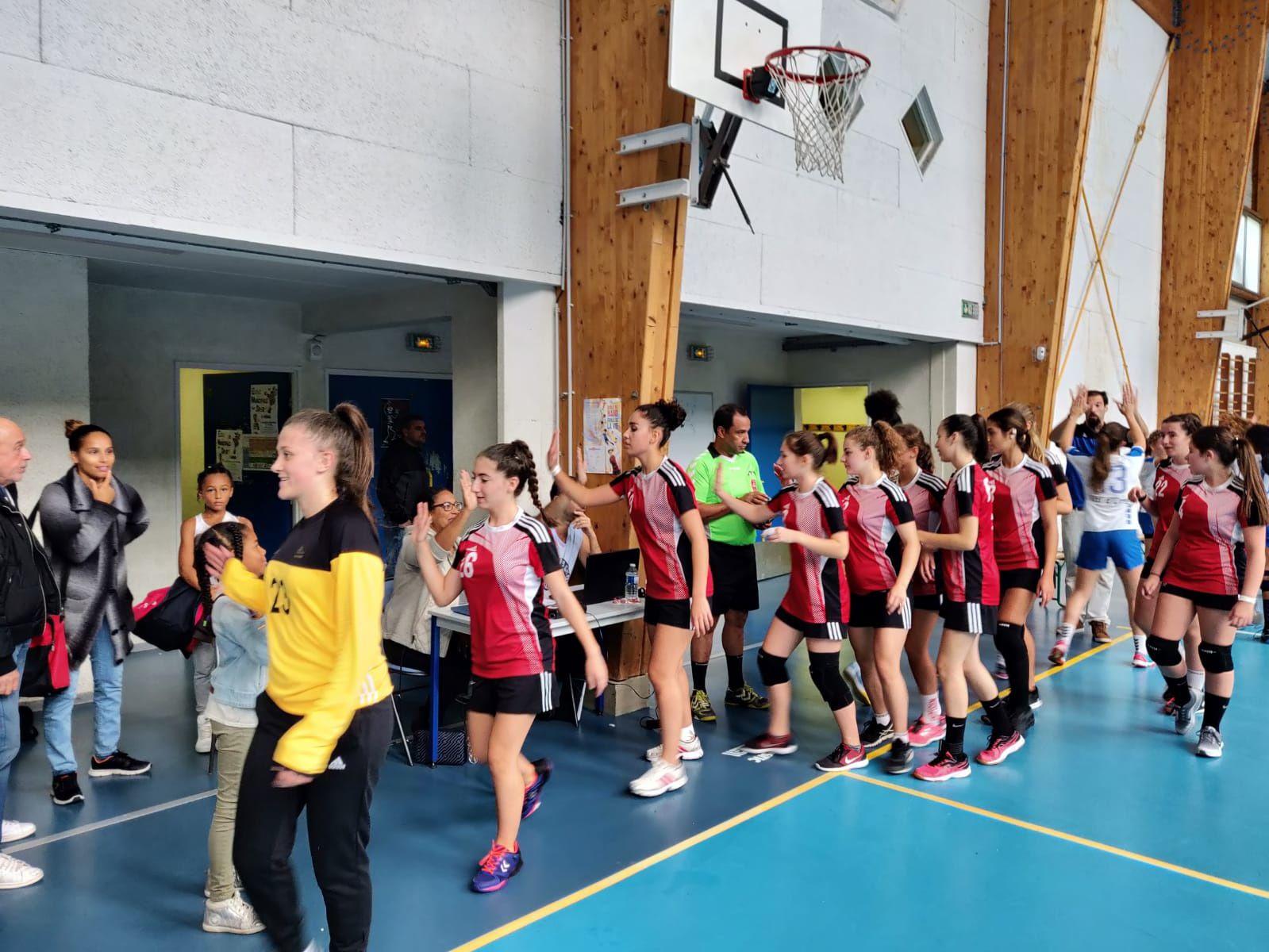Fin de match pour les -18 ans Féminines