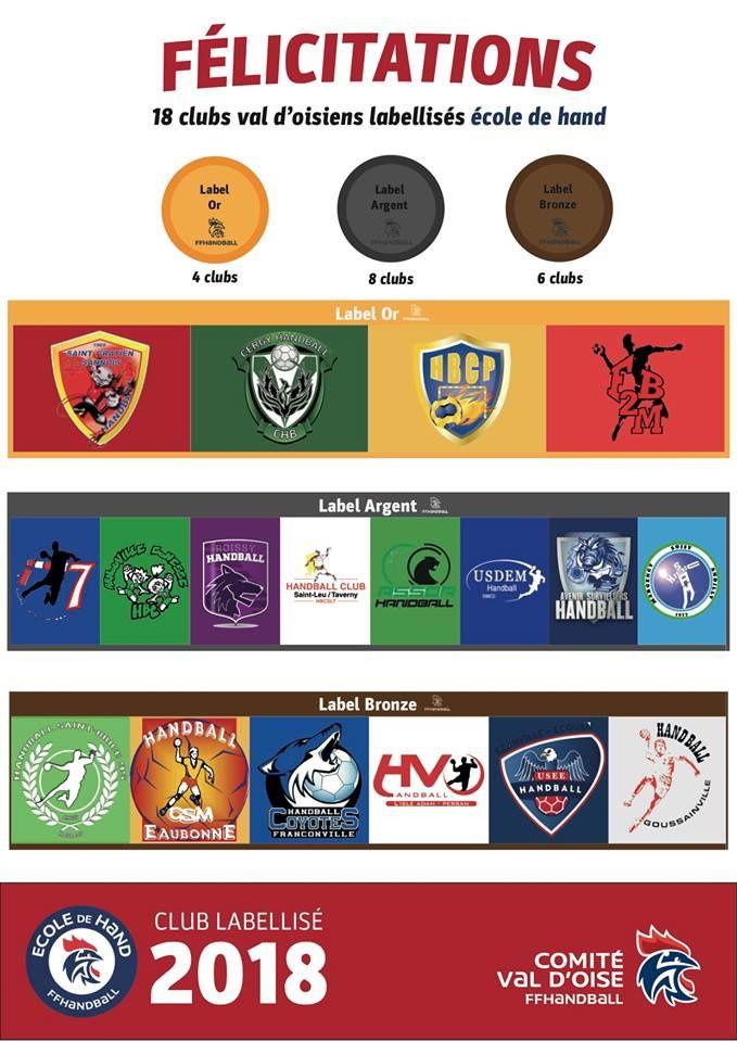 Ecole de Handball Labéllisée