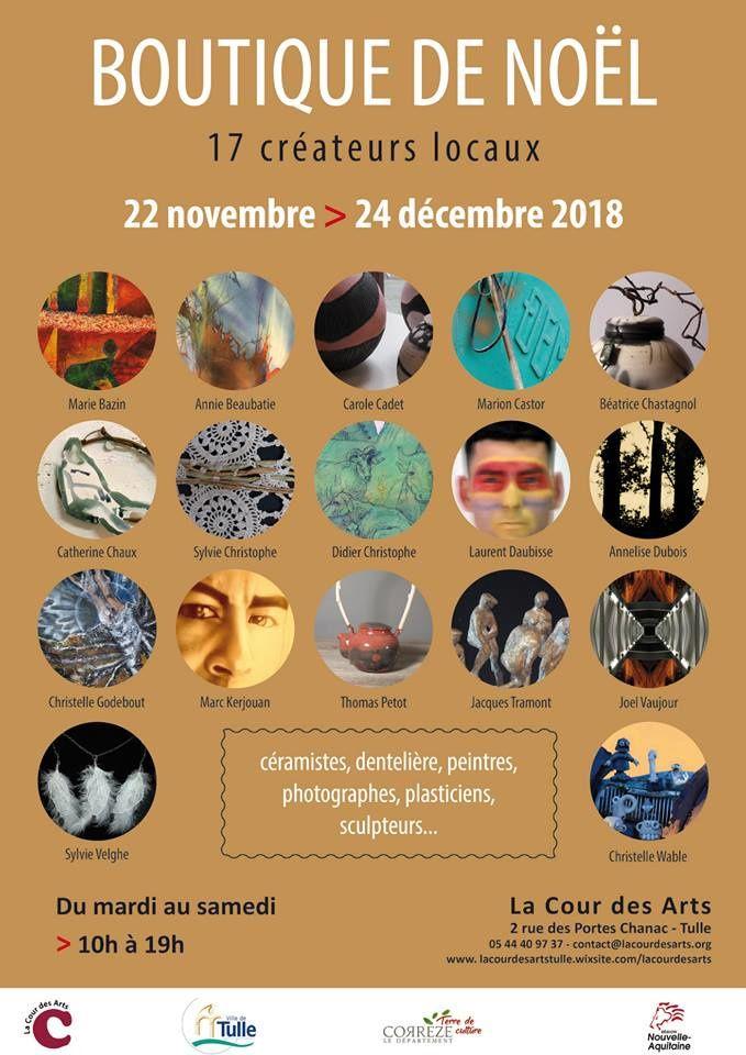 17 artistes et créateurs locaux exposent leurs petits formats jusqu'au 24 décembre.