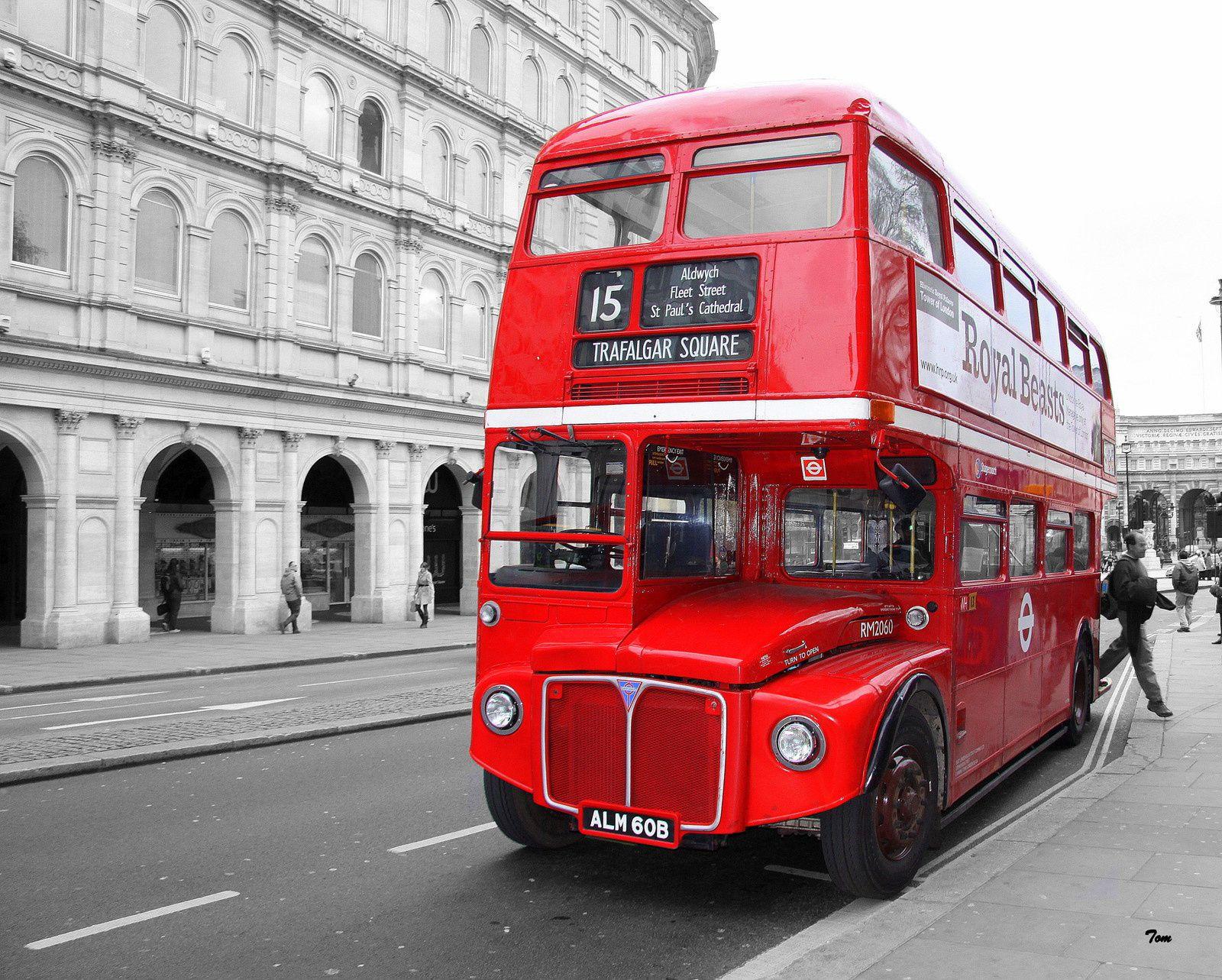 Bus à Impériale - Londres