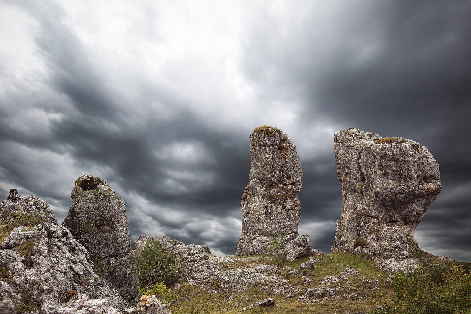 Le Causse Méjean - Lozère - France