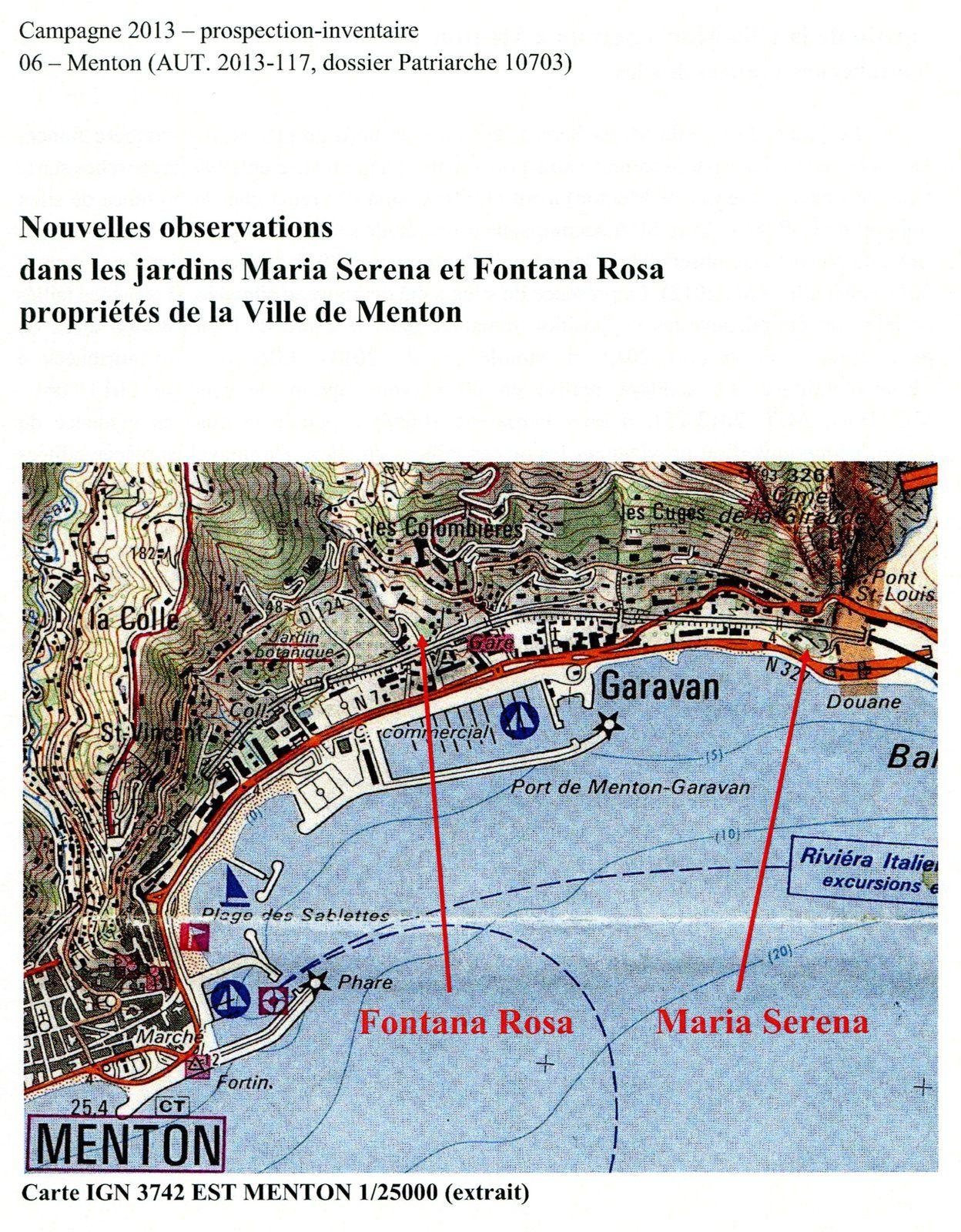 """Fouilles archéologiques de """"Fontana Rosa"""" : 2010 et 2013"""