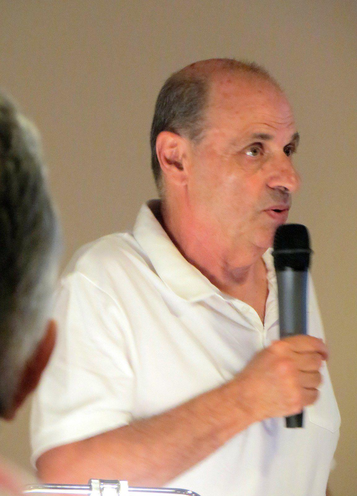 Jean-Pierre Frediani à l'Odyssée de Menton