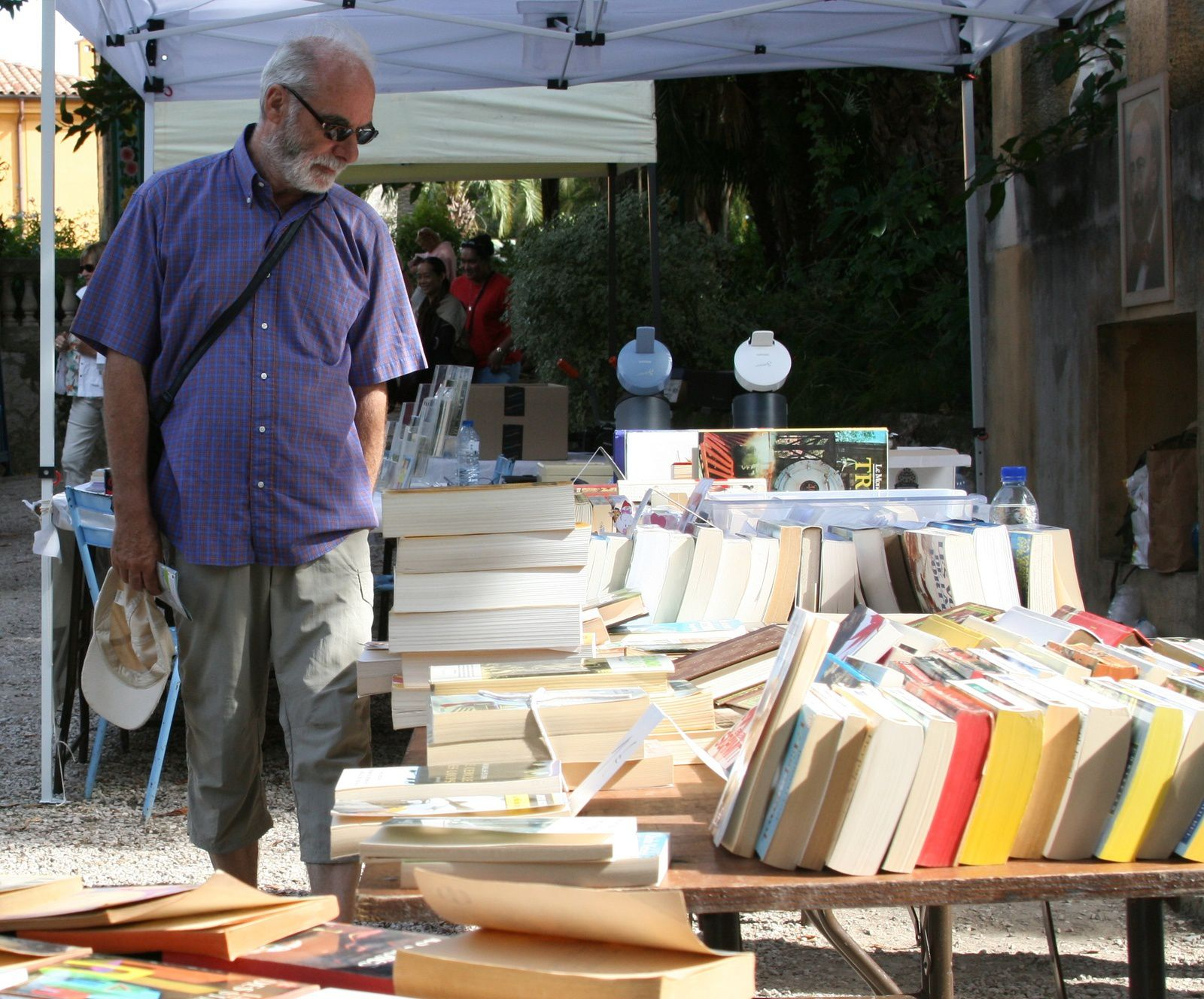 2ème Festival du livre d'occasion de Fontana Rosa : un succès !