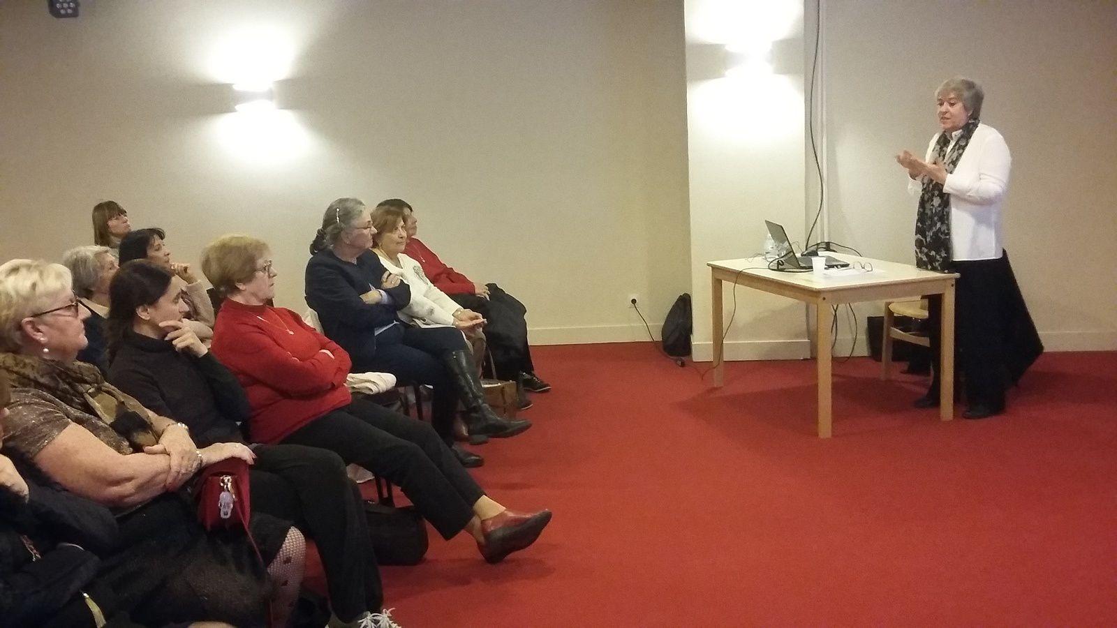 14ème rencontre-débat du Cercle autour de Dominique Manigand-Gorzala àl'Odyssée de Menton