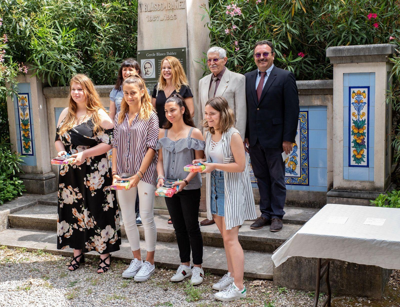 Remise des prix du concours de la nouvelle 2019 à Fontana Rosa