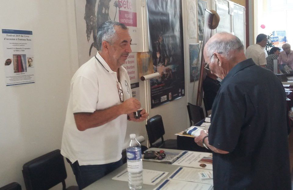 Le Cercle Blasco Ibàñez au forum des associations 2019