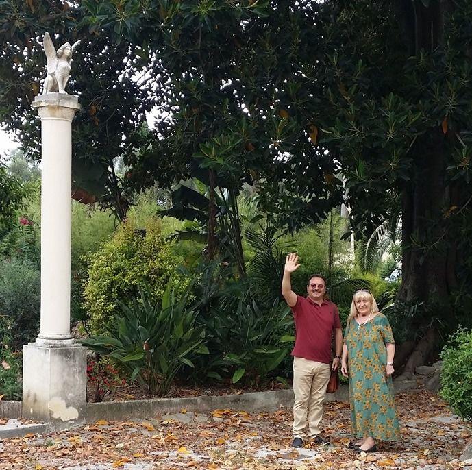 Visite de deux amis valenciens à Fontana Rosa