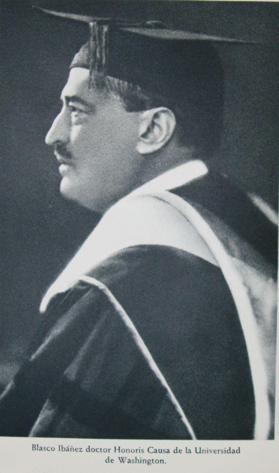 Cérémonie Docteur Honoris Causa de Vicente Blasco Ibañez - GW University