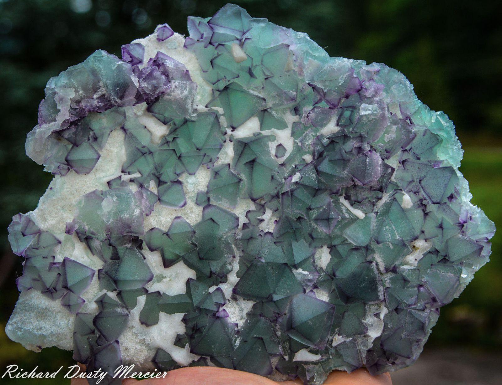 Fluorite from De'an Mine, Jiangxi, China