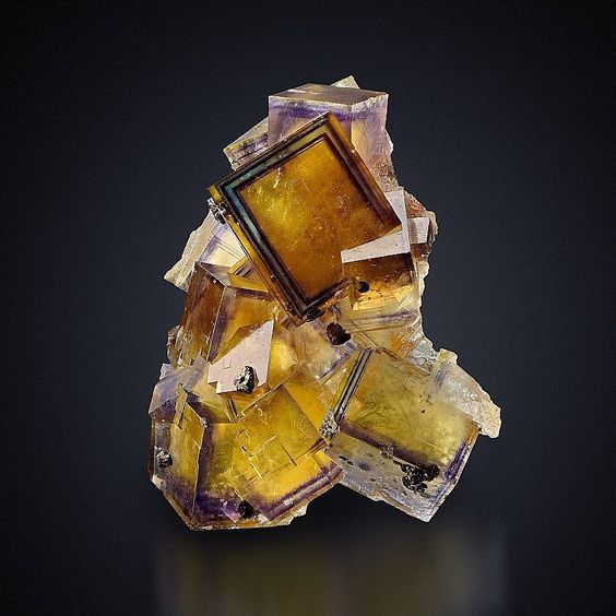 Fluorite from Germany (private collection)