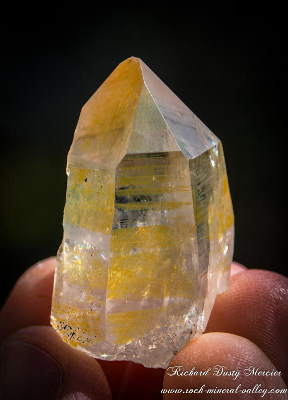 Citrine from Bavaria, Germanny (Allemagne) (size: Thumbnail)