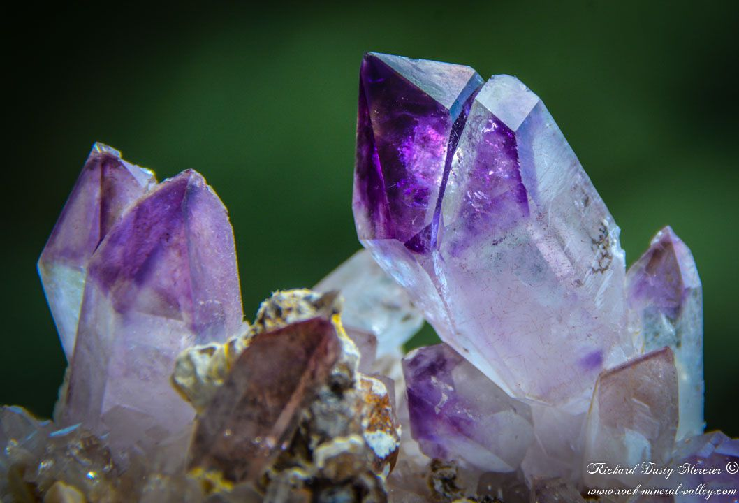 Amethyst Scepter from Orange River, Africa (size: Small Cabinet)
