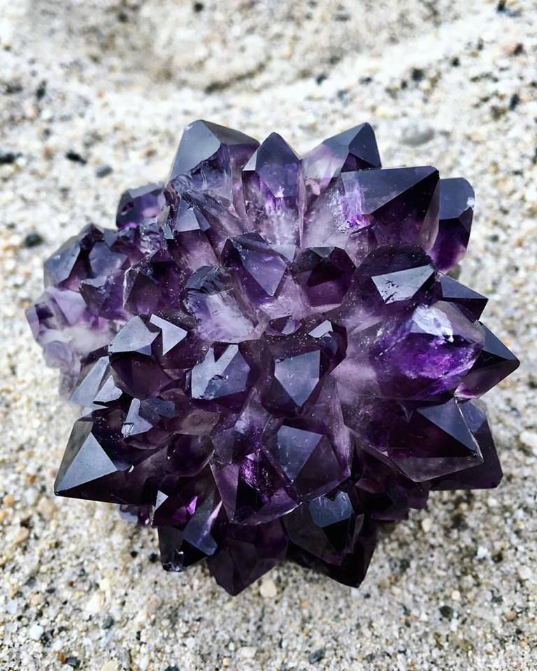 Amethyst Flower from Uruguay (private collection)
