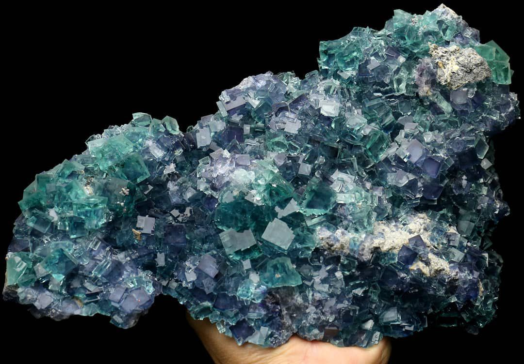 Fluorite from Fujian, China (private collection)
