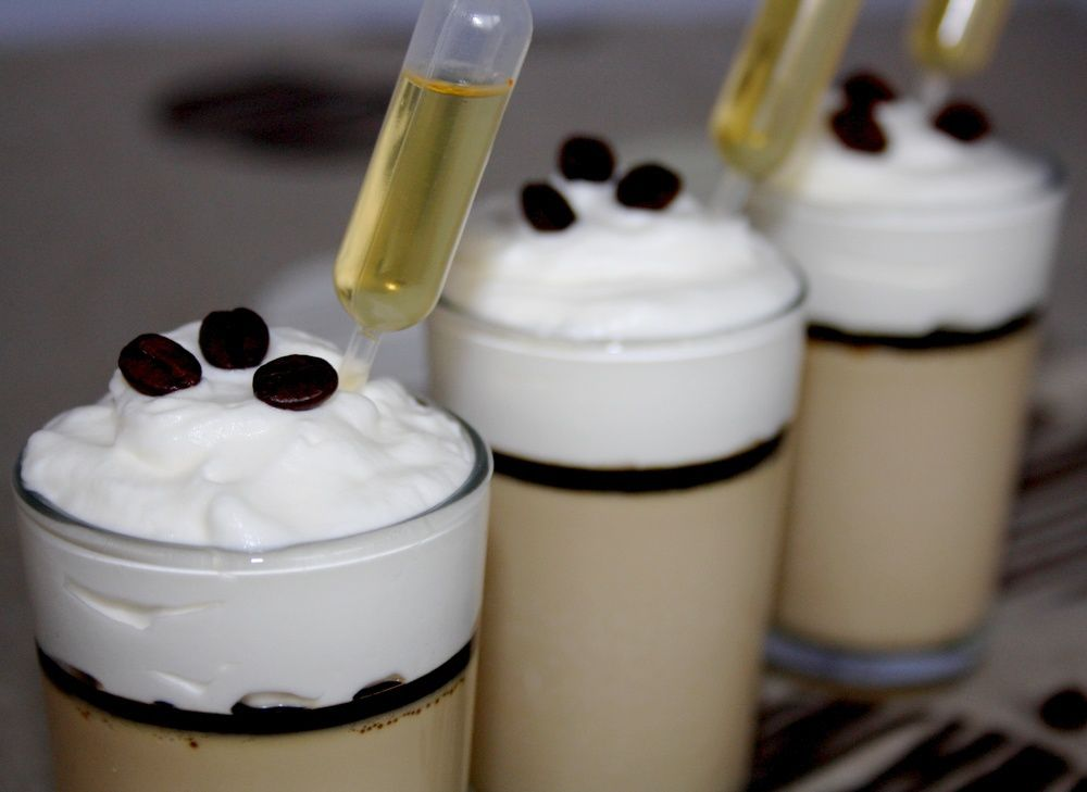 Verrine Irish coffee
