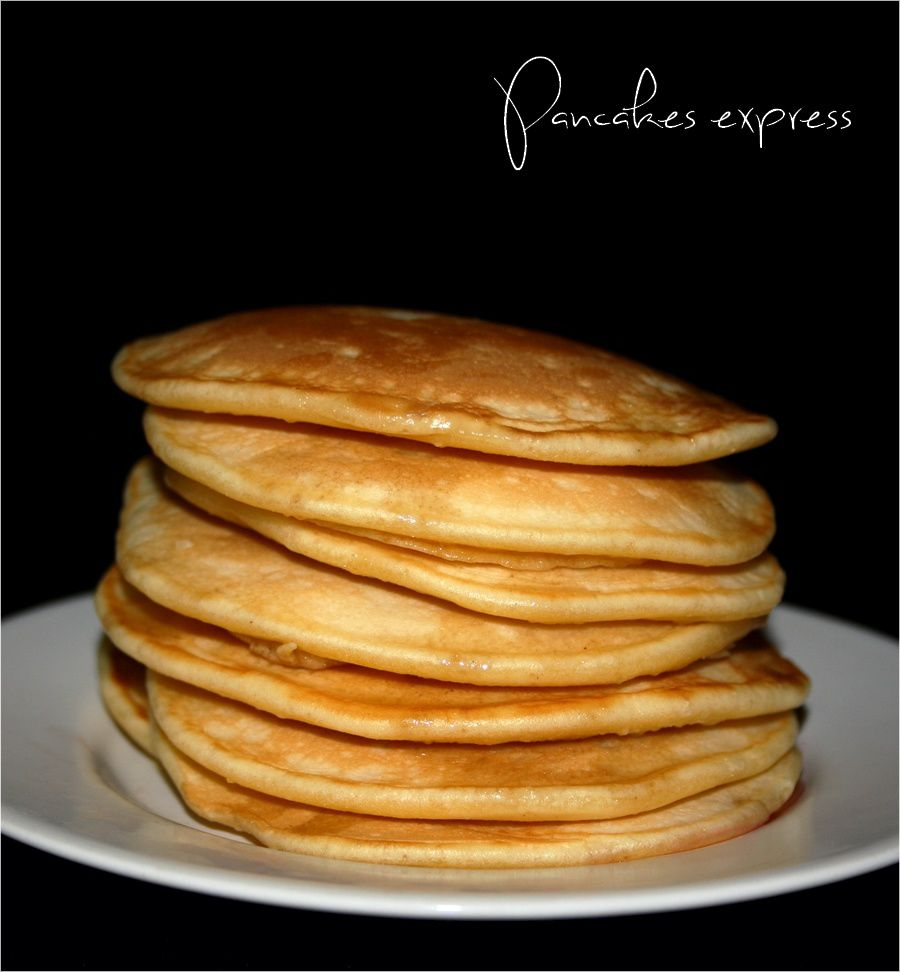 Pancakes express {simple et rapide}