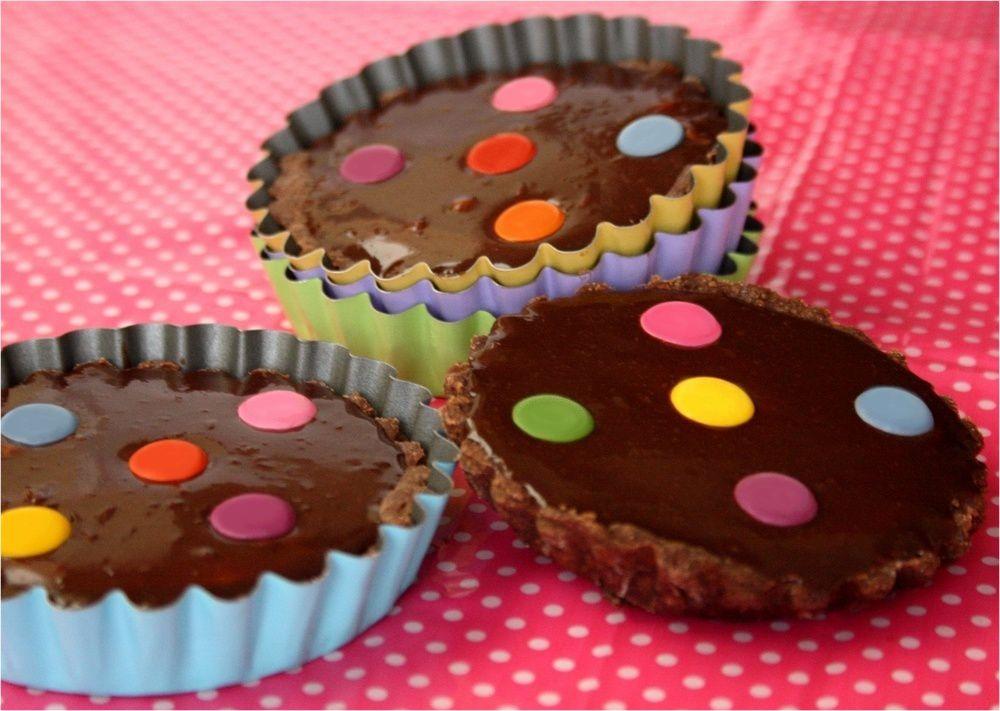 Tartelettes au Nutella ® et Smarties ®