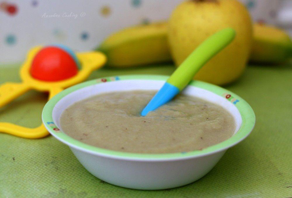 Compote pomme - banane (dès 4mois)