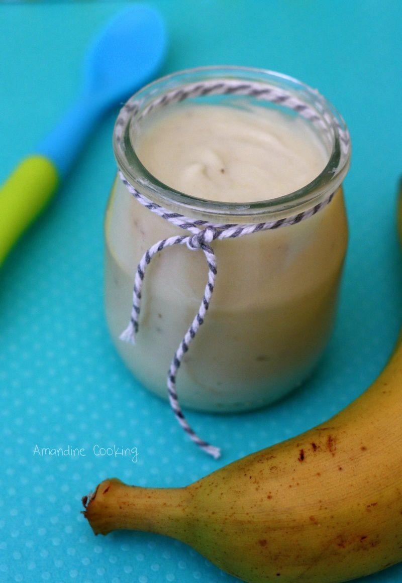 Crème à la banane (dès 4mois)