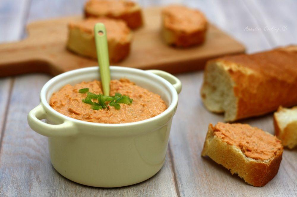 Rillettes de thon aux tomates séchées et piment doux