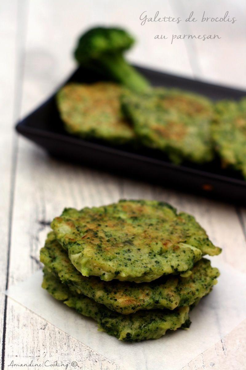 Beignet De Brocolis Au Four galettes de brocolis au parmesan - amandine cooking