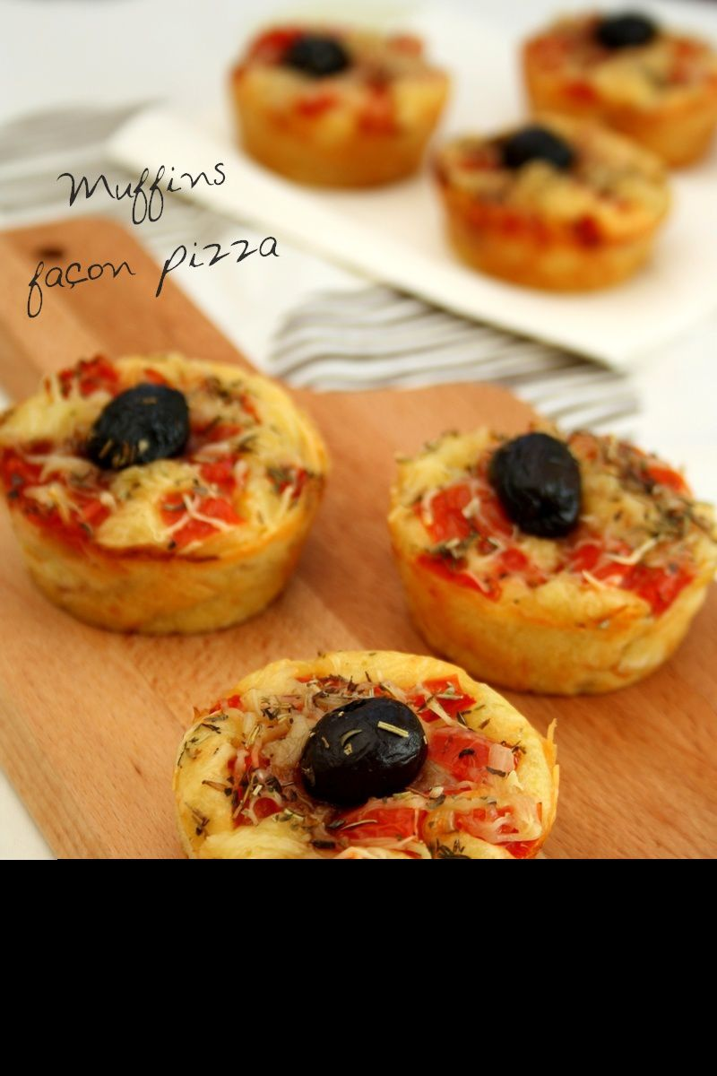 muffins fa on pizza amandine cooking. Black Bedroom Furniture Sets. Home Design Ideas