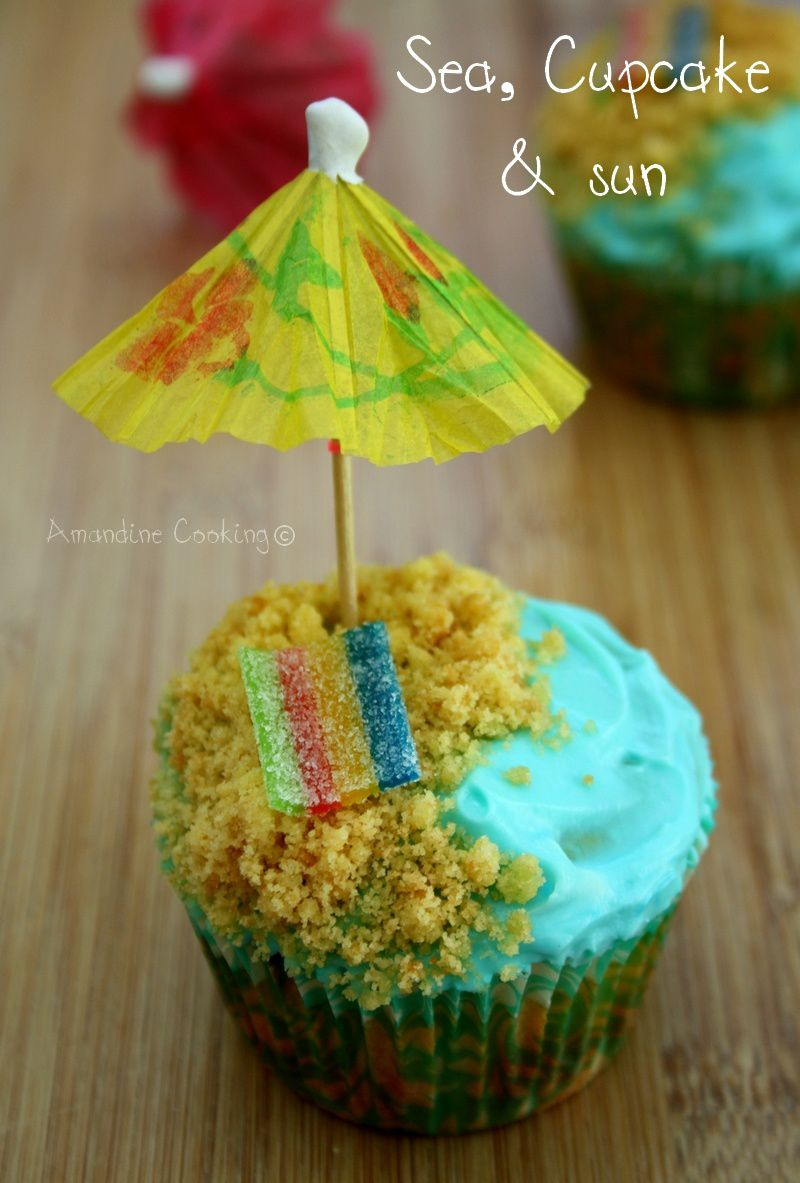 Sea, cupcake & sun : les cupcakes de l'été !