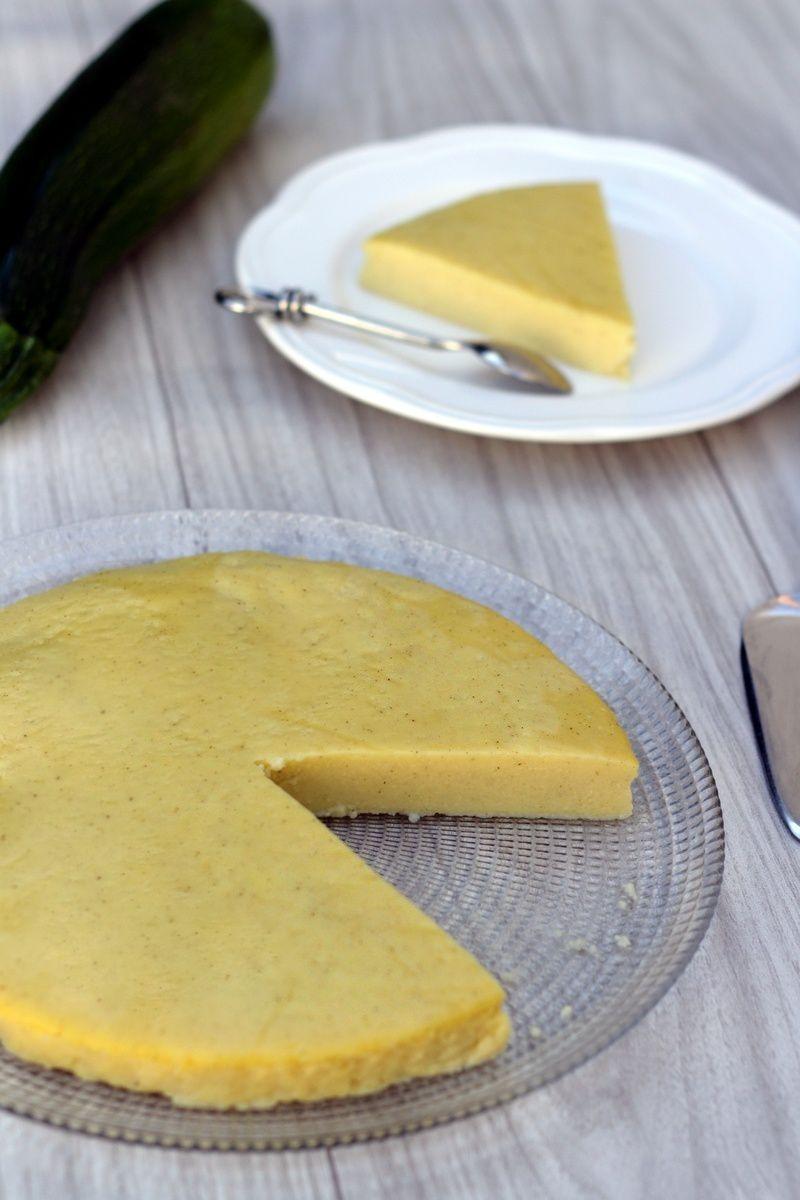 Flan pâtissier léger (à la courgette, chut!)
