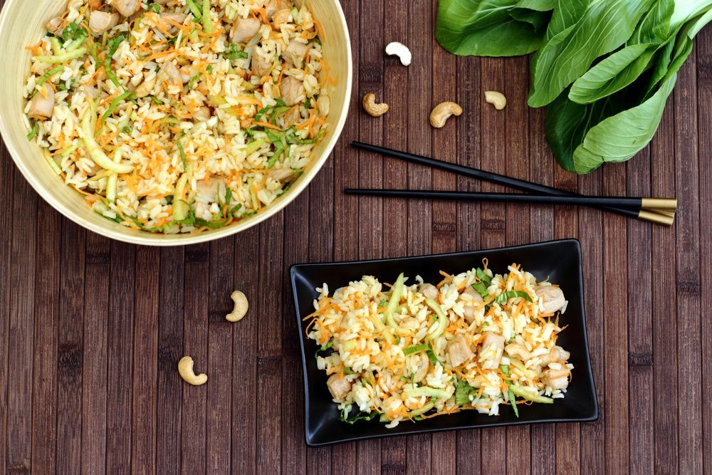salade de riz thaï