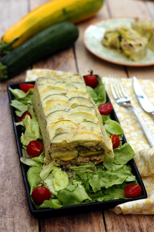 flan thon courgette