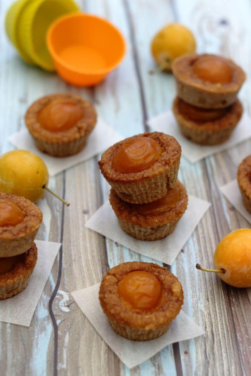 Mini muffin à la mirabelle et vanille (sans sucre ajouté)