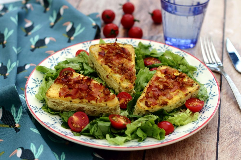 quiche bacon oignon