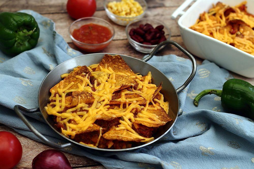 Gratin de nachos au cheddar - Amandine Cooking