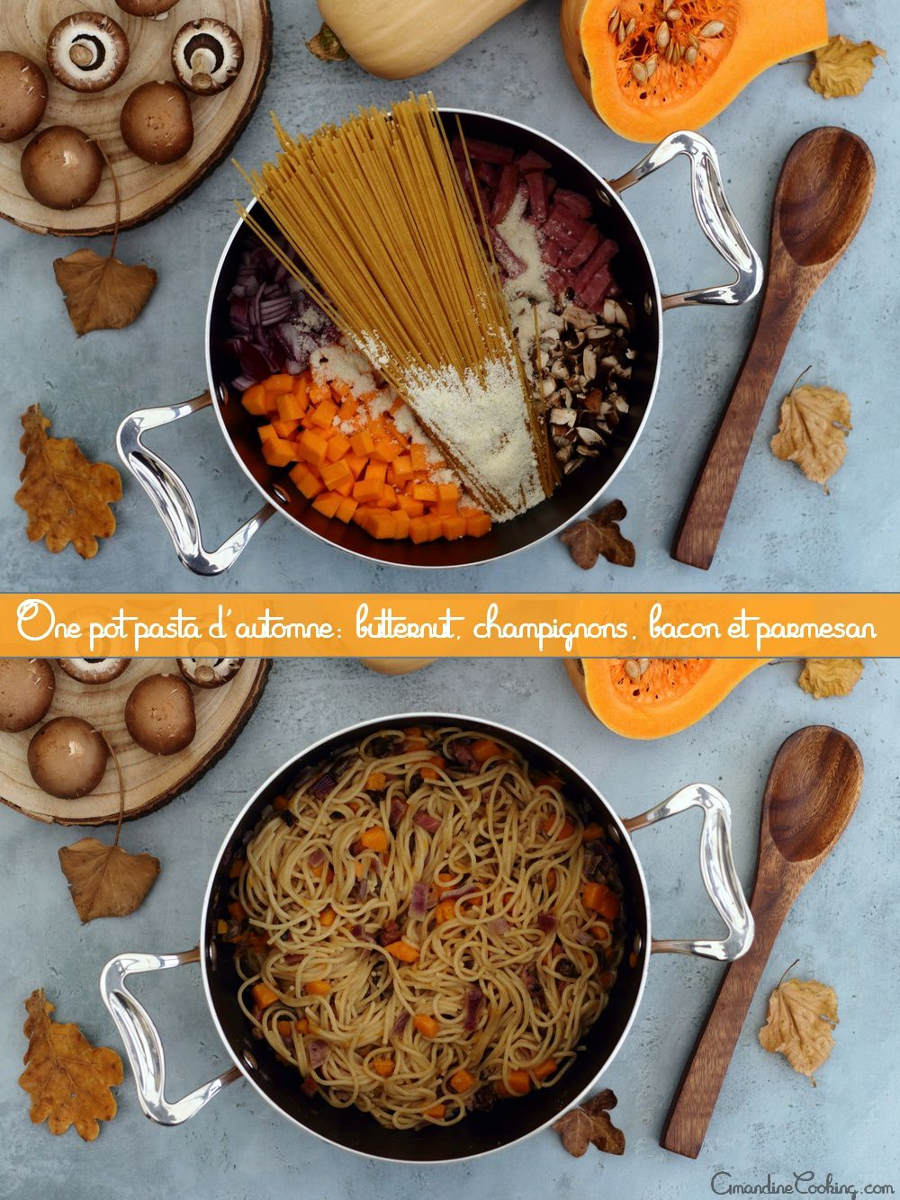 one pot pasta automne