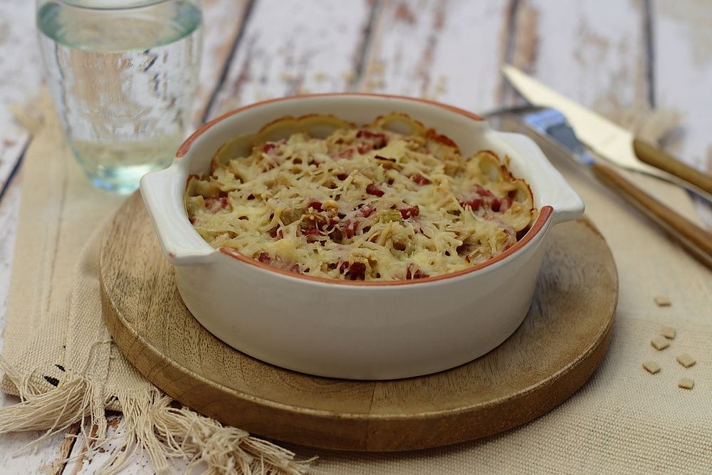 gratin de crozets weight watchers