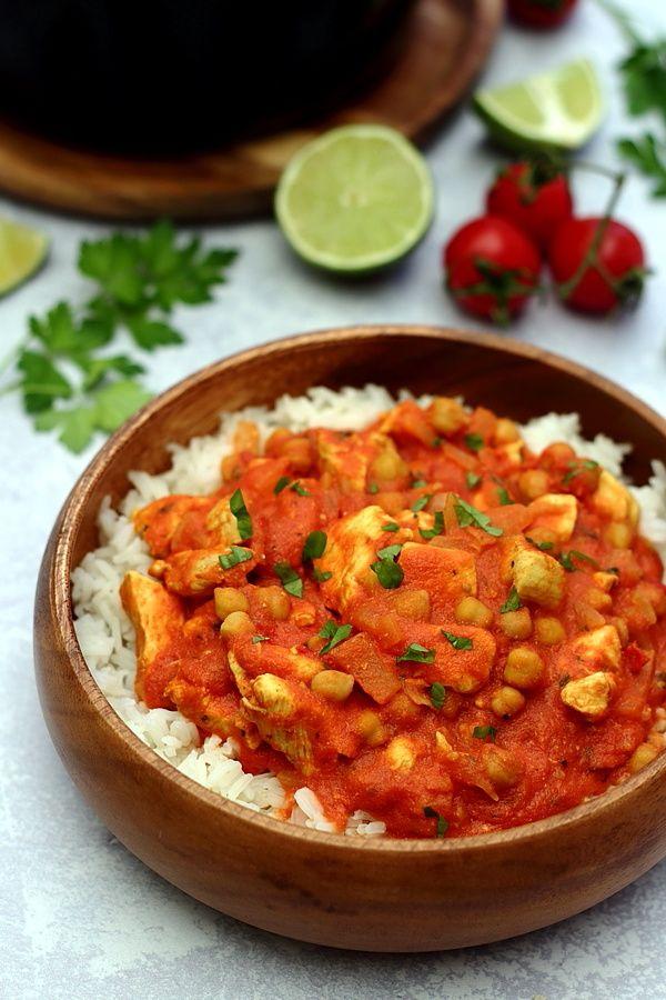 curry de poulet à l'indienne