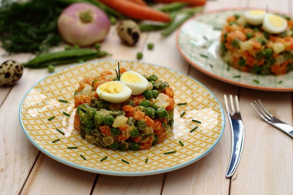 macédoine légumes maison
