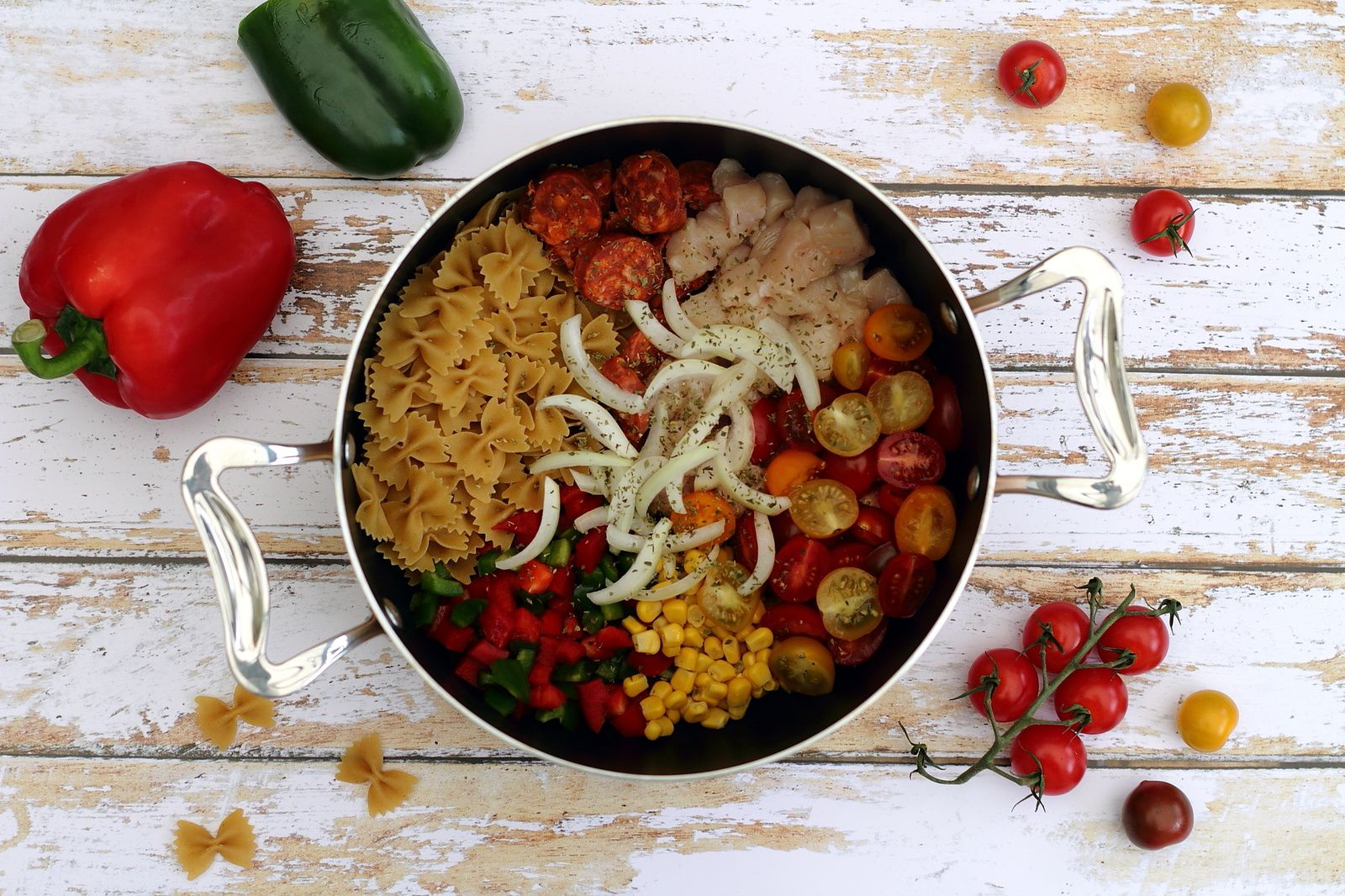 One pot pasta mexicain - Amandine Cooking
