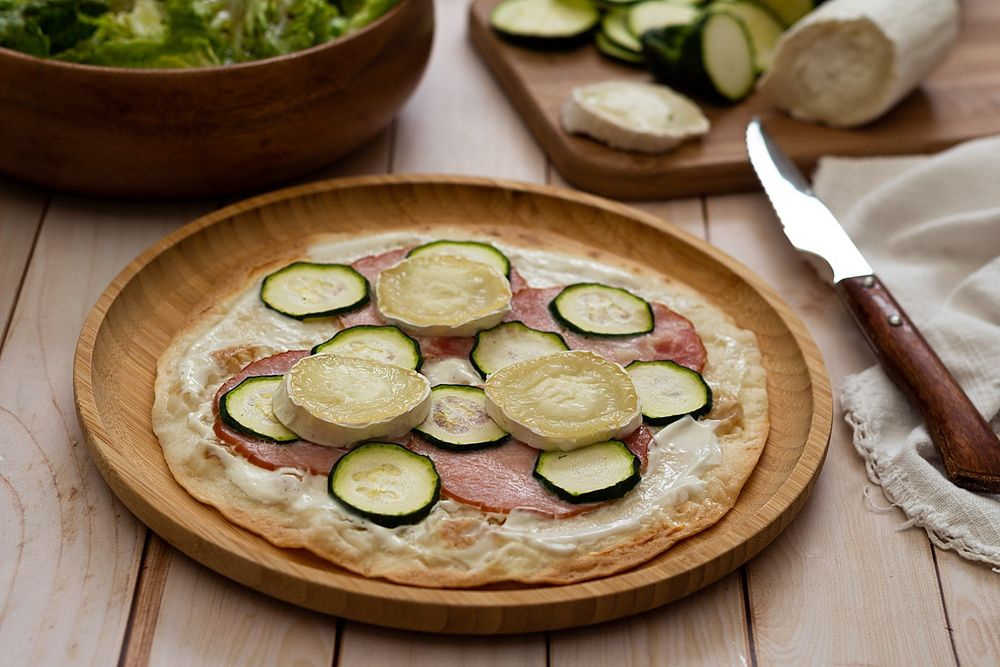 tortipizza courgette
