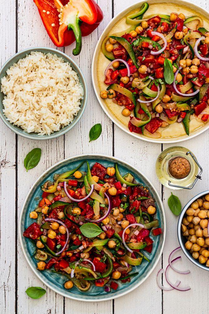 salade pois chiche légume