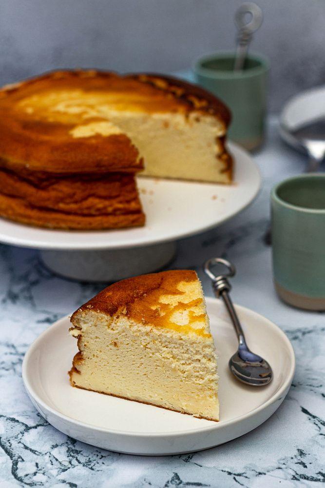 gâteau au fromage blanc léger