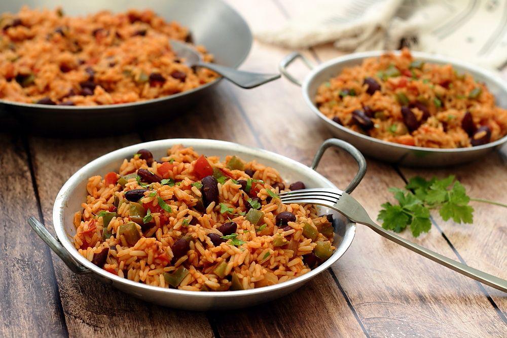 riz cajun végétarien