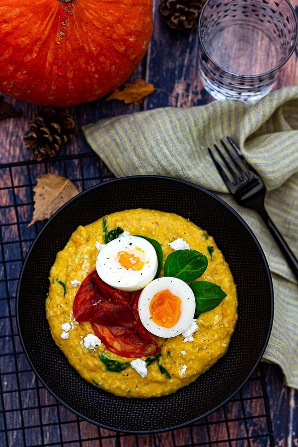 porridge courge chorizo