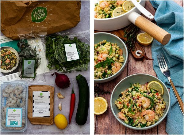 couscous perlé hellofresh