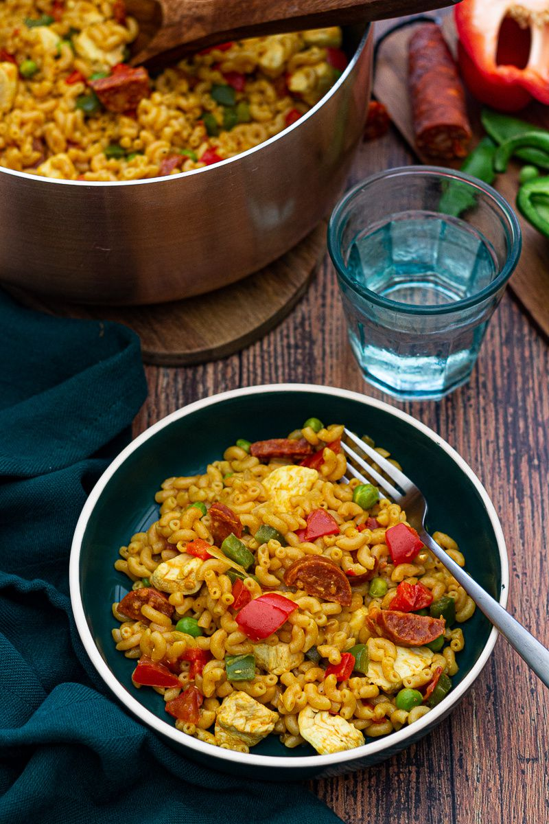 one pot pasta paella