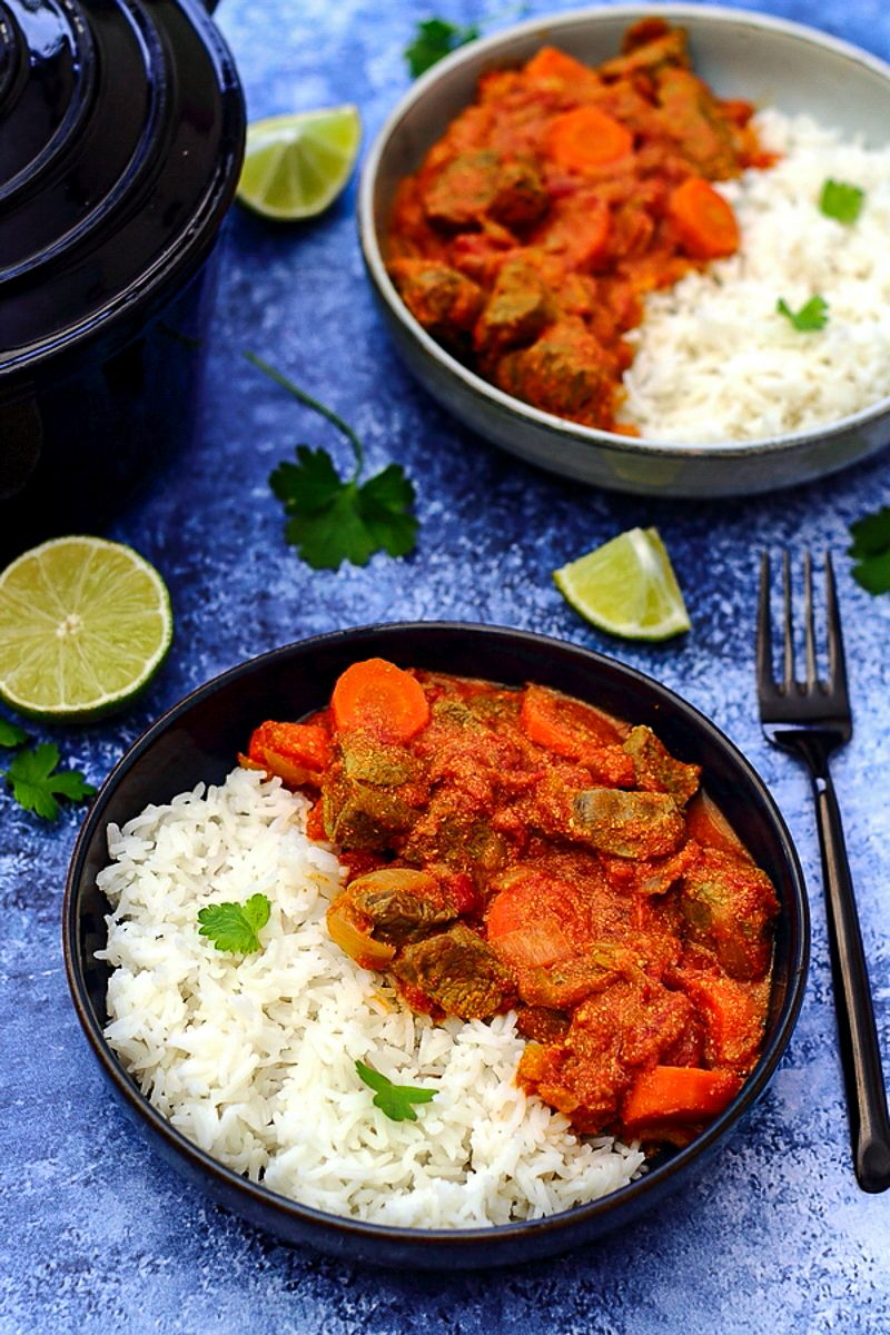 curry d'agneau indien