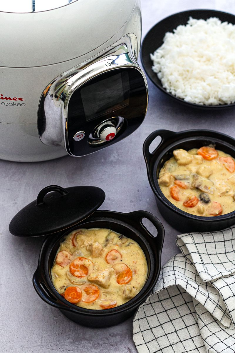 blanquette poulet cookeo