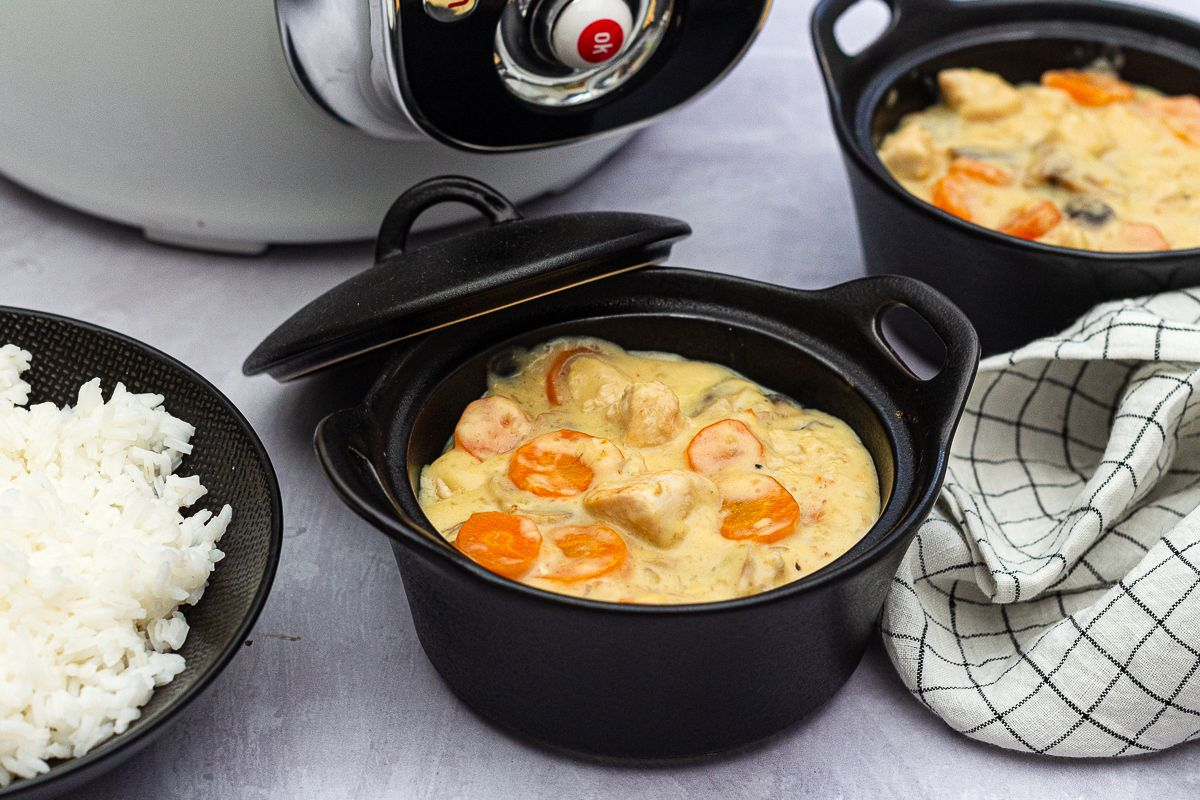 blanquette volaille cookeo